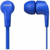 Гарнитура вкладыши Philips TAE1105BL/00 1.2м синий проводные в ушной раковине