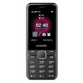 Мобильный телефон Digma A241 Linx 32Mb черный моноблок 2Sim 2.44