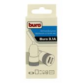 Автомобильное зар./устр. Buro TJ-189 2.1A+1A универсальное черный