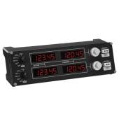 Геймпад Logitech G Saitek Pro Flight Radio Panel черный USB виброотдача