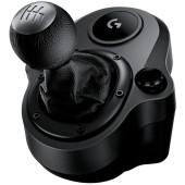 Блок рычагов Logitech G Driving Force Shifter черный USB