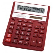 Калькулятор бухгалтерский Citizen SDC-888XRD красный 12-разр.