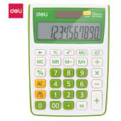 Калькулятор настольный Deli E1238/GRN зеленый 12-разр.