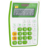Калькулятор настольный Deli E1122/GRN зеленый 12-разр.