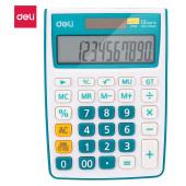 Калькулятор настольный Deli E1238/BLUE синий 12-разр.