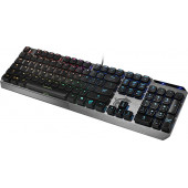 Клавиатура MSI VIGOR GK50 LOW PROFILE RU механическая черный USB Multimedia for gamer LED