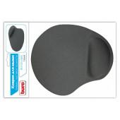 Коврик для мыши Buro BU-GEL серый