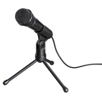 Микрофон проводной Hama MIC-P35 Allround 2.5м черный -1