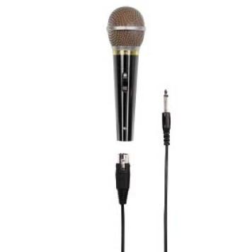 Микрофон проводной Hama H-46060 3м черный