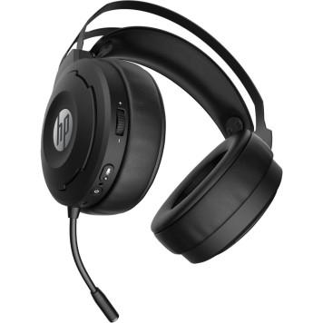Наушники с микрофоном HP X1000 Wireless черный накладные Radio оголовье (7HC43AA) -4