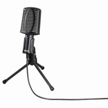 Микрофон проводной Hama 00139906 2м черный -1