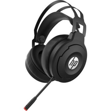 Наушники с микрофоном HP X1000 Wireless черный накладные Radio оголовье (7HC43AA) -3