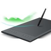Графический планшет Huion Inspiroy Q11K V2 USB черный