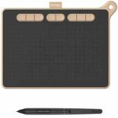 Графический планшет Parblo Ninos M USB Type-C черный/розовый