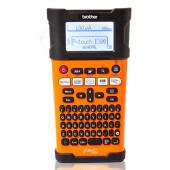 Принтер Brother P-touch PT-E300VP переносной оранжевый/черный