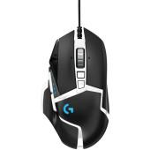 Мышь Logitech G502 SE HERO черный/белый лазерная (16000dpi) USB (11but)