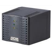 Стабилизатор напряжения Powercom TCA-2000 1000Вт 2000ВА черный