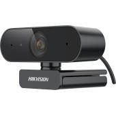 Камера Web Hikvision DS-U02 черный 2Mpix (1920x1080) USB2.0 с микрофоном для ноутбука
