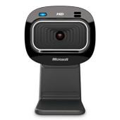Камера Web Microsoft LifeCam HD-3000 черный USB2.0 с микрофоном