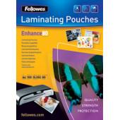 Пленка для ламинирования Fellowes 80мкм A3 (100шт) глянцевая 303x426мм CRC-53062 (FS-53062)