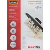 Пленка для ламинирования Fellowes 125мкм A4 (25шт) глянцевая 216x303мм CRC-53963 (FS-53963)