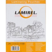 Пленка для ламинирования Fellowes 75мкм A4 (100шт) глянцевая 216x303мм Lamirel (LA-78656)
