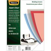 Обложки для переплёта Fellowes A3 200мкм прозрачный (100шт) CRC-53764 (FS-53764)