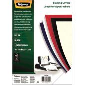 Обложки для переплёта Fellowes A4 250г/м2 черный (100шт) CRC-53704 (FS-53704)