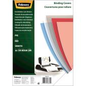 Обложки для переплёта Fellowes A4 200мкм красный (100шт) CRC-53771 (FS-53772)