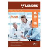 Бумага Lomond 0102131 A4/90г/м2/500л./белый матовое для струйной печати