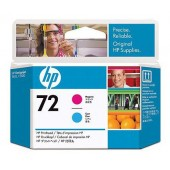 Печатающая головка HP 72 C9383A пурпурный/голубой для HP DJ T1100/T610
