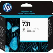Печатающая головка HP 731 P2V27A голубой/серый/пурпурный/черный фото/черный матовый/желтый для HP DJ T1700