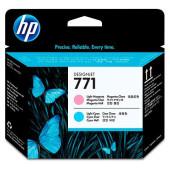 Печатающая головка HP 771 CE019A светло-голубой/светло-пурпурный для HP DJ Z6200