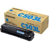 Картридж лазерный Samsung CLT-C503l SU016A голубой (5000стр.) для Samsung C3010/C3060