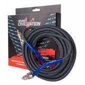 Акустический кабель Kicx RCA SCM25 5м 2-х канальный