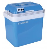 Автохолодильник Starwind CB-112 24л 48Вт голубой/белый