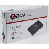 Усилитель автомобильный ACV LX-1.1200 одноканальный