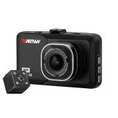 Видеорегистратор Artway AutoCam AV-394 черный 2Mpix 1080x1920 1080i 120гр. Ambarella