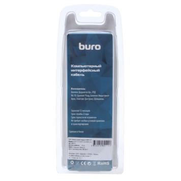 Кабель аудио-видео Buro HDM 2.0 HDMI (m)/HDMI (m) 1.8м. Позолоченные контакты черный (BHP RET HDMI18-2)