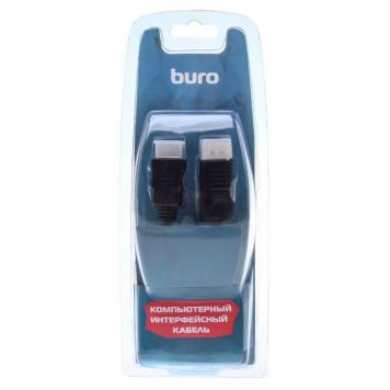 Кабель аудио-видео Buro DisplayPort (m)/HDMI (m) 1.8м. феррит.кольца Позолоченные контакты черный (BHP RET HDMI_DPP18) -4