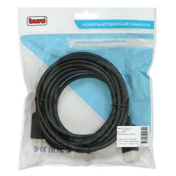 Кабель аудио-видео Buro v. 1.2 DisplayPort (m)/HDMI (m) 5м. Позолоченные контакты черный (BHP DPP_HDMI-5)