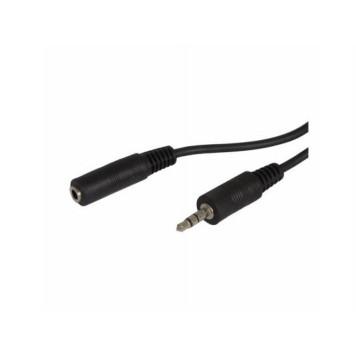 Кабель аудио Ningbo Jack 3.5 (m)/Jack 3.5 (f) 2м. черный (JAAC003-2)