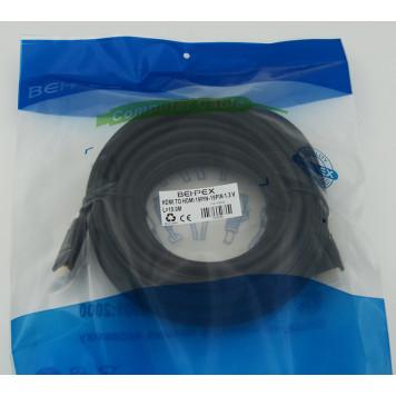 Кабель аудио-видео HDMI (m)/HDMI (m) 10м. черный -1