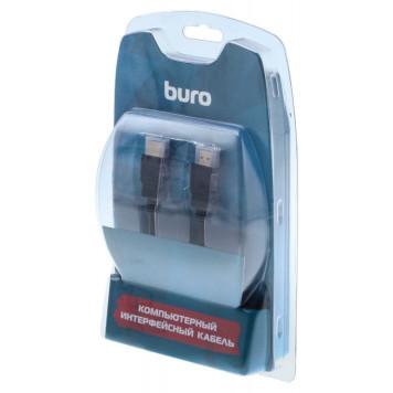Кабель аудио-видео Buro HDMI 1.4 HDMI (m)/HDMI (m) 5м. Позолоченные контакты черный (BHP RET HDMI50) -3