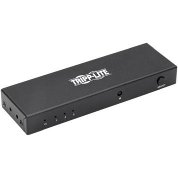 Сплиттер аудио-видео Tripplite B119-003-UHD 3xHDMI (f)/HDMI (f) 1м. феррит.кольца Позолоченные контакты черный