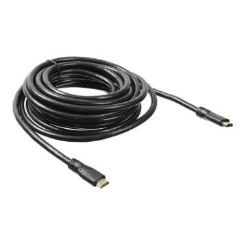 Кабель аудио-видео Buro HDMI 2.0 HDMI (m)/HDMI (m) 7м. Позолоченные контакты черный (BHP HDMI 2.0-7) -4