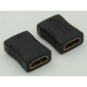 Адаптер аудио-видео HDMI (f)/HDMI (f) черный