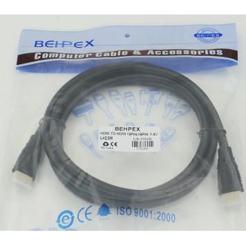 Кабель аудио-видео HDMI (m)/HDMI (m) 2м. черный -1