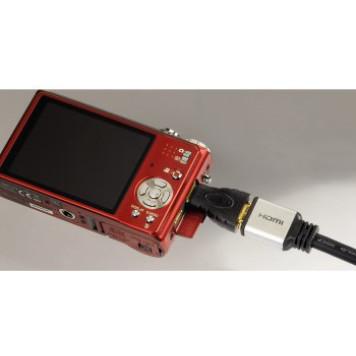 Адаптер аудио-видео Hama H-39861 mini-HDMI (m)/HDMI (f) Позолоченные контакты черный (00039861) -2