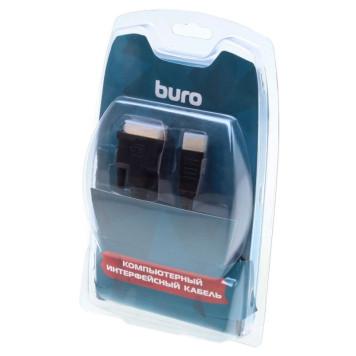 Кабель аудио-видео Buro HDMI (m)/DVI-D (Dual Link) (m) 1.8м. Позолоченные контакты черный (BHP RET HDMI_DVI18) -5